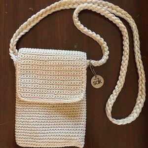 The Sak crossbody crochet purse